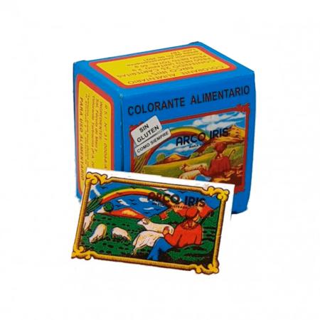 Colorante Alimentario Arco Iris en caja de sobrecitos a domicilio o recoger en tienda Nucal Picassent